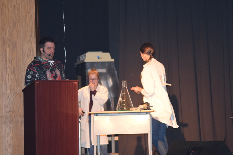 Spectacle de sciences